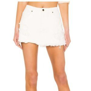 MINKPINK Wrecked Denim Skort